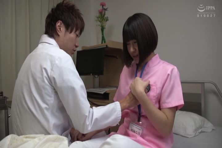 ピンクナース接近中◆入院中の仆に発情した看护师がエッチなキバを剥く!