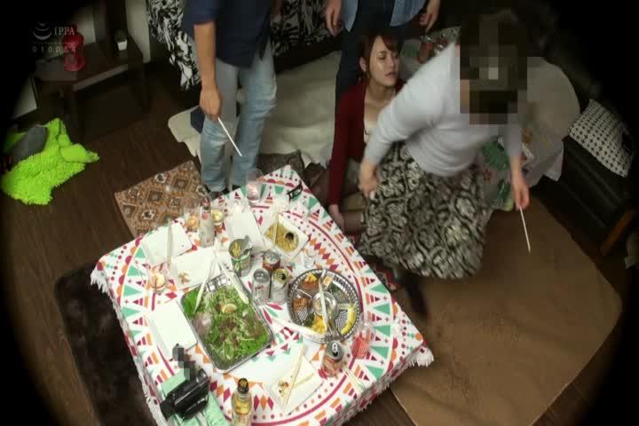 寿退社する妻の送别会ビデオ 仆の爱しい嫁さんが酒に呑まれ会社の上司や同僚に寝取られました。其の9