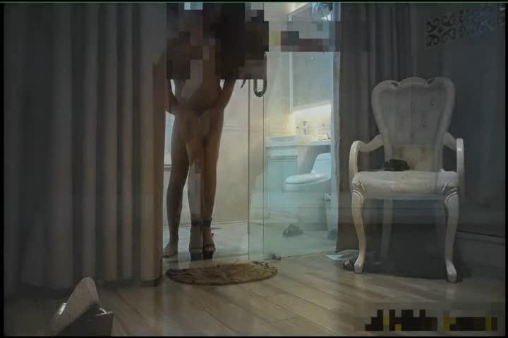 昔日大神高价约啪高挑大长腿连体黑丝大高跟外围女模各种体位抱起来肏浴室干到地板很生猛1080P原版