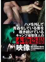 AOZ-210Z-ハメを外して青姦している客を覗き続けているキャンプ場管理人の本物盜撮映像