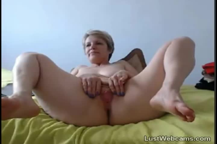 Caught wife masterbating so I came in that tight pussy25